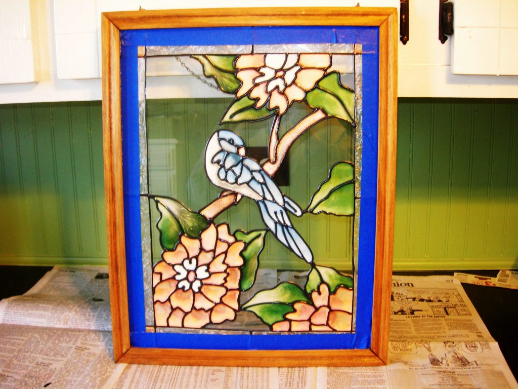 Stained Glass Redo Cottage At The Crossroads
