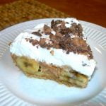 Banana Heath Bar Pie | Cottage at the Crossroads