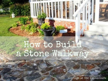 Our Stone Walkway Cottage At The Crossroads