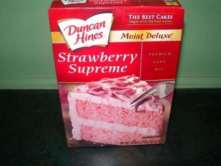 strawberry cake mix miss floy s award winning strawberry cake cottage at the 7736