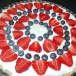 Triple Berry Cheesecake Tart
