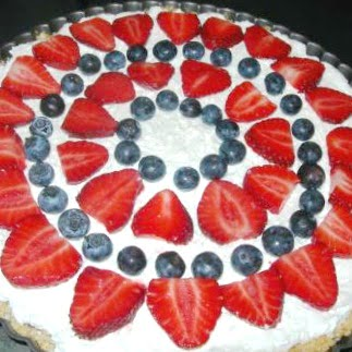 Triple Berry Cheesecake Tart