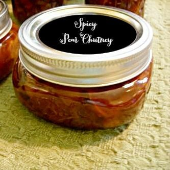 Homemade Pear Chutney | Cottage at the Crossroads
