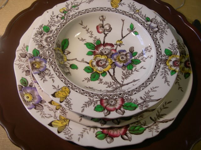 save - Thanksgiving China Patterns