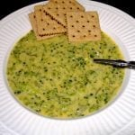 broccoli cheese soup | Cottage at the Crossroads