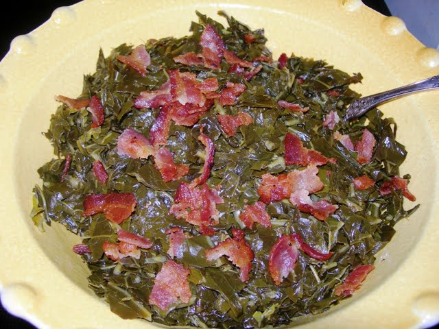 My Collard Greens Recipe Cottage At The Crossroads