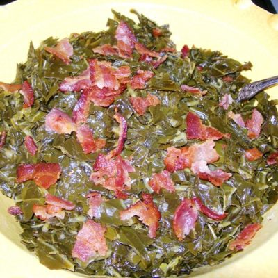 How to cook collard greens | Cottage at the Crossroads