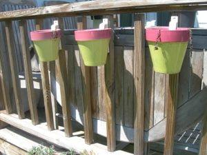 terracotta pot holders