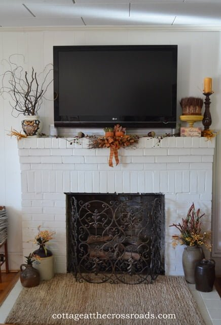 carrot cake 020 Fall mantel decorating ideas {Features}