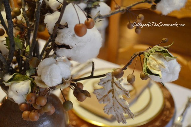 cotton centerpiece