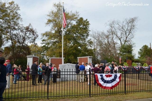 Veterans Memorial Lamar SC