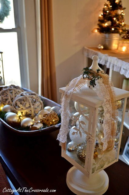 More Indoor Christmas Decor Cottage At The Crossroads