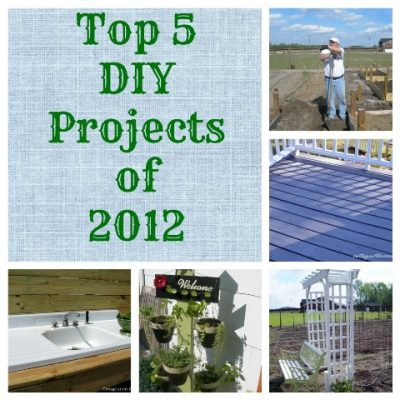 Top 5 DIY projects of 2012-Cottage at the Crossroads
