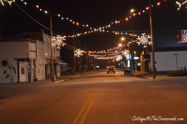 Vintage Christmas Lights.Vintage Christmas Lights In Lamar