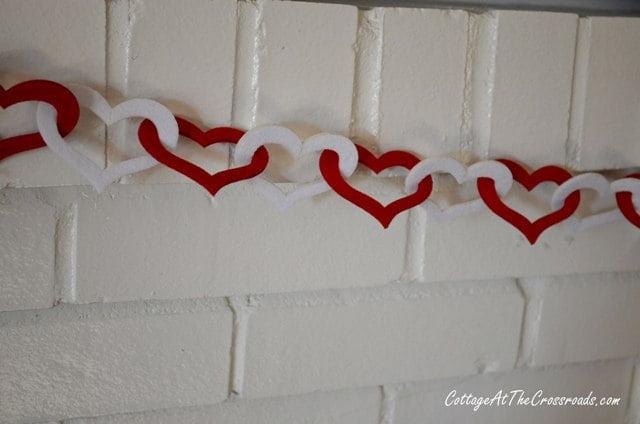 Valentine's Day mantel 013