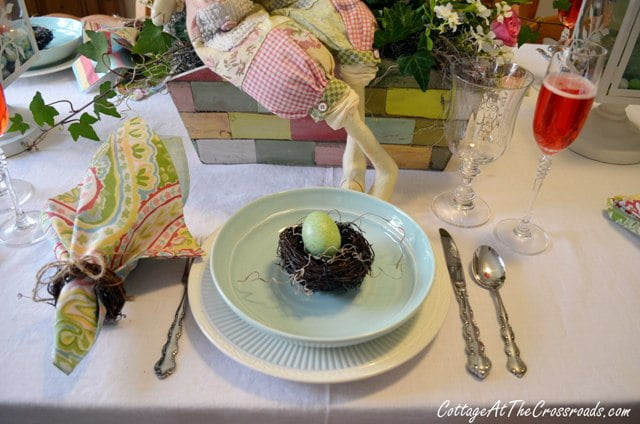 Easter tablescape 2013