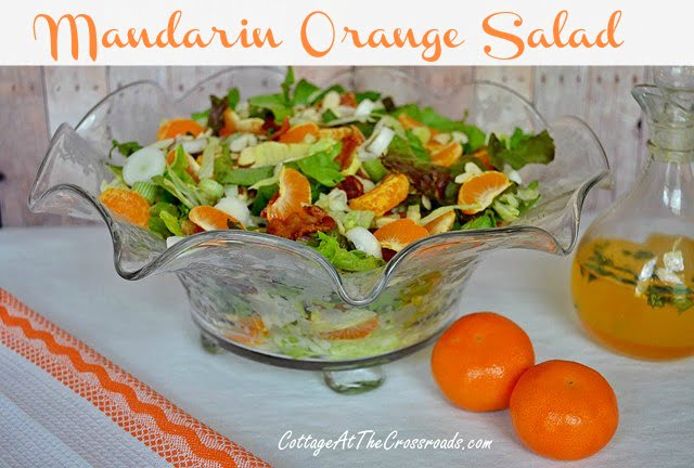 Mandarin Orange Salad | Cottage at the Crossroads