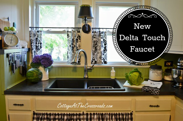 Our New Delta TouchO Kitchen Faucet - Delta touchless kitchen faucet