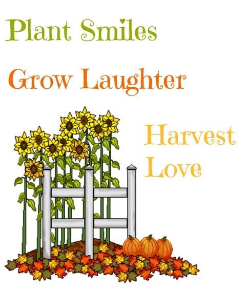 Plant smiles printable