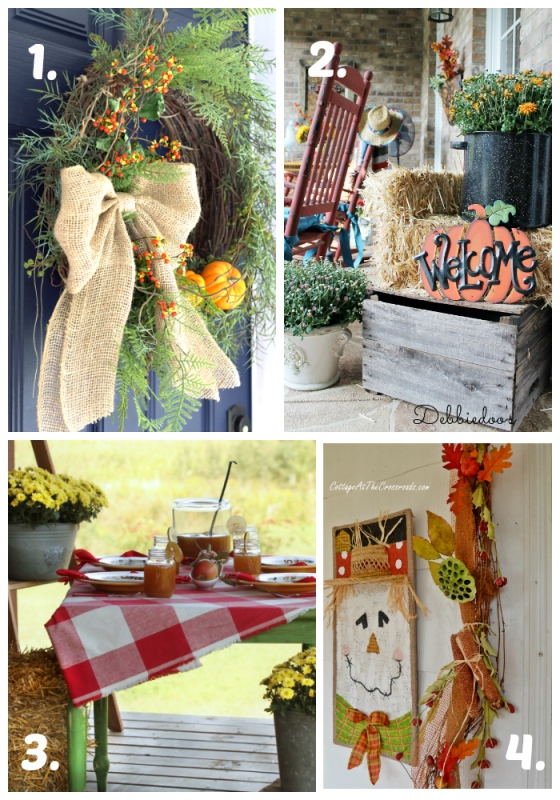 Fall doors and porches