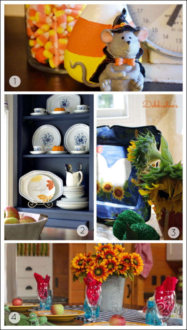 four fall kitchens