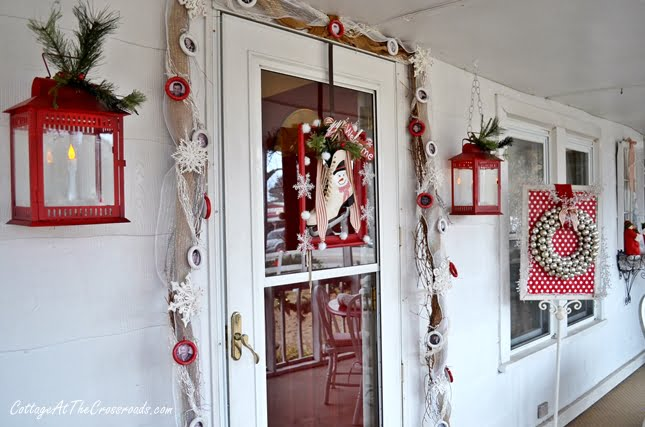 Christmas on the Front Porch-Cottage at the Crossroads