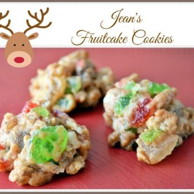 fruitcake cookies from Cottage at the Crossroads