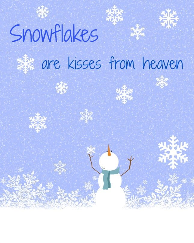Snowflake Printables Quotes. QuotesGram