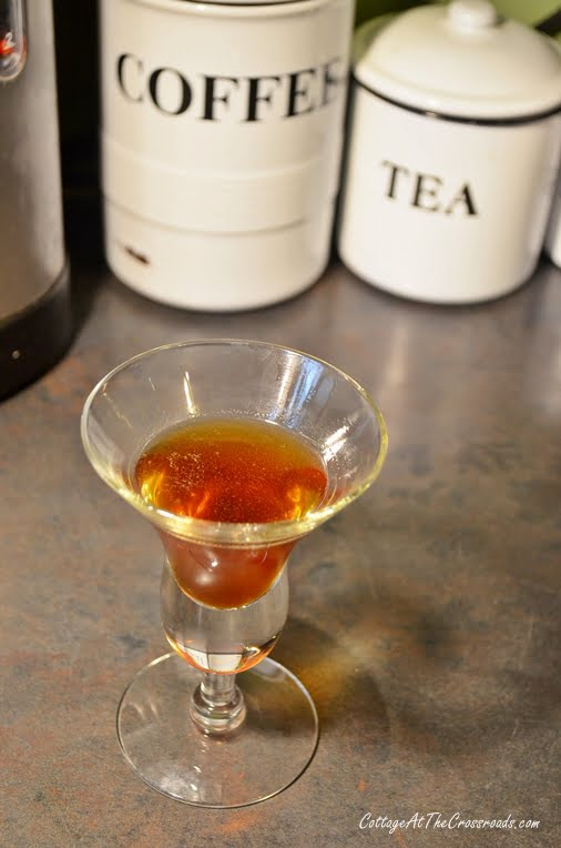 Homemade Cinnamon Coffee Liqueur | Cottage at the Crossroads