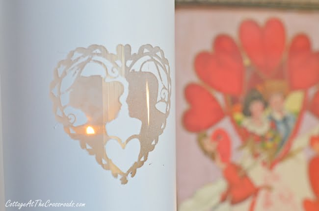 Dollar Store Glass Candleholder | Cottage at the Crossroads