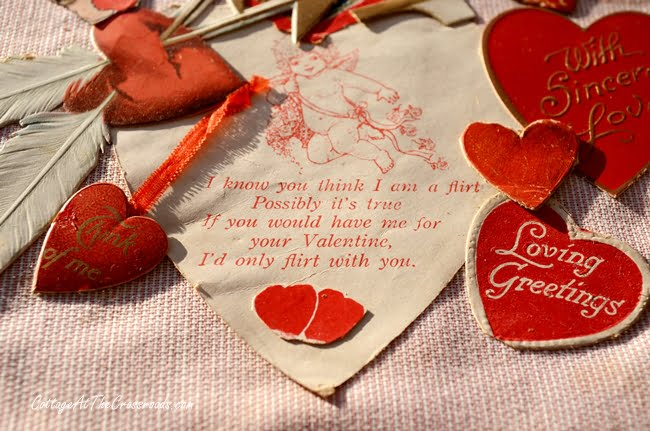 Vintage Valentine | Cottage at the Crossroads