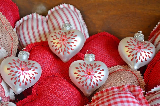 Fabric Hearts | Cottage at the Crossroads