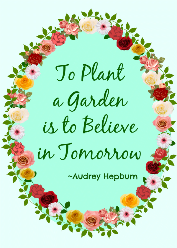 To Plant a Garden Free Printable | Cottage at the Crossroads