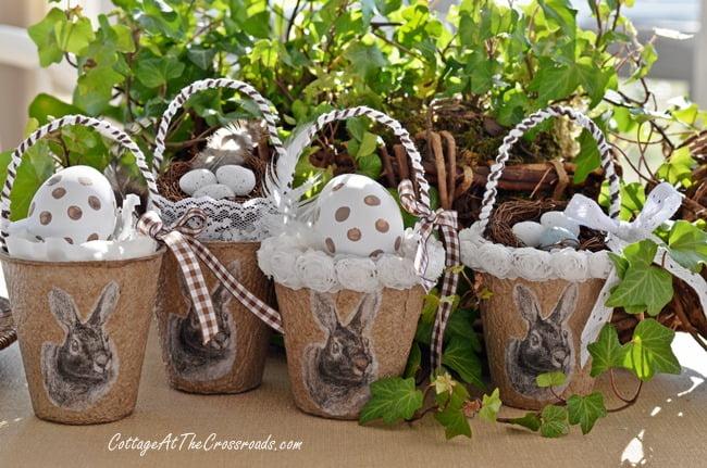 Bunny Peat Pot