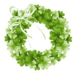 Irish Blessing and Wreath