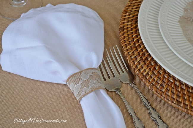 Neutral Buny Tablescape | Cottage at the Crossroads