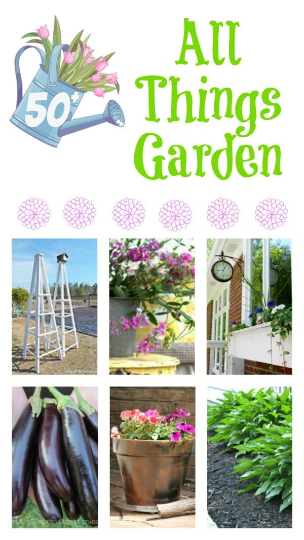 50 Tips, Tutorials, and Recipes all related to gardening