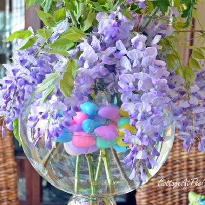 Spring Centerpiece | Cottage at the Crossroads
