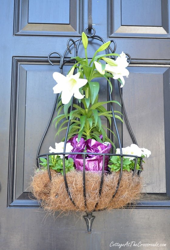 Easter Door Decoration | Cottage at the Crossroads