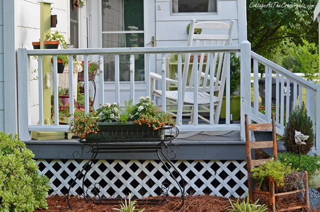 back deck | Cottage at the Crossroads