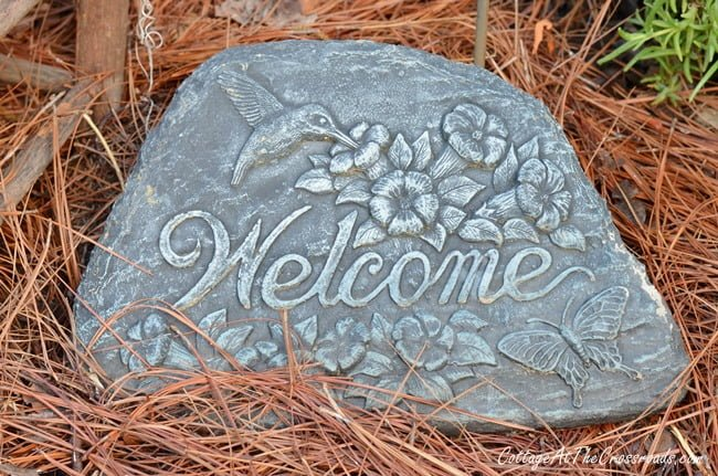 Welcome sign | Cottage at the Crossroads