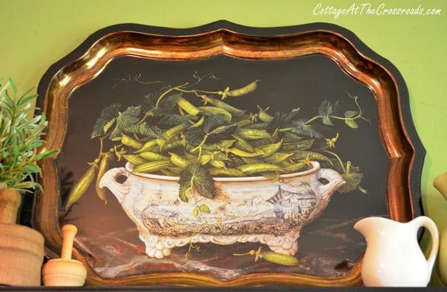 spring pea tray   Cottage at the Crossroads