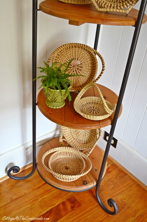 From My Front Porch To Yours-How I Found My Style Sundays-sweetgrass baskets | Cottage at the Crossroads