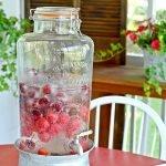 sparkling cherry wine