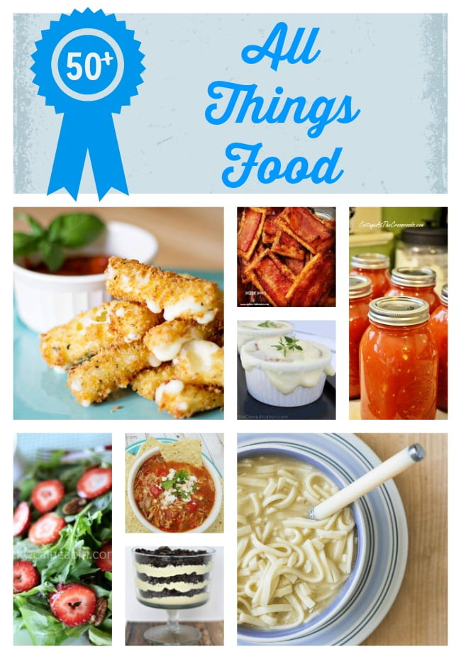 Over 50 of the best recipes from the All Things Creative group