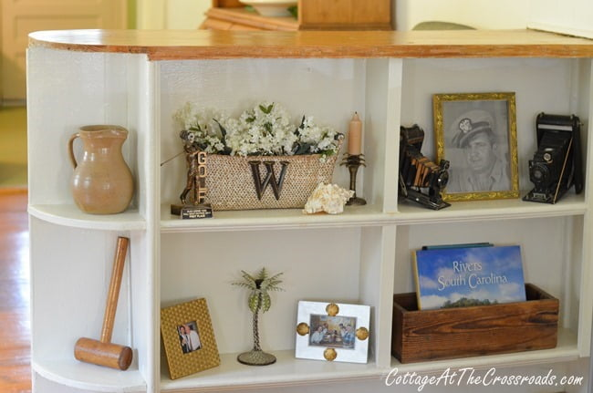 wooden dividers | Cottage at the Crossroads