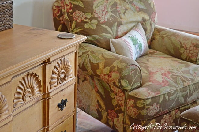 chest and chair | Cottage at the Crossroads