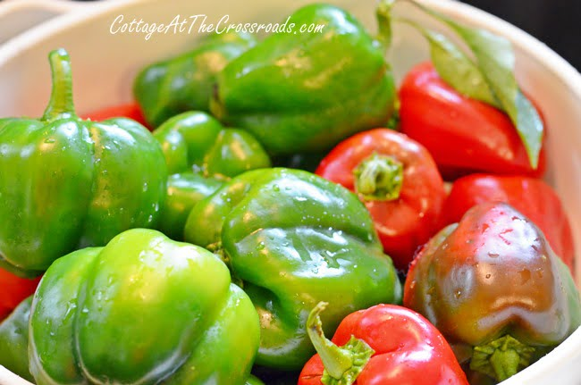 green tomato relish | Cottage at the Crossroads