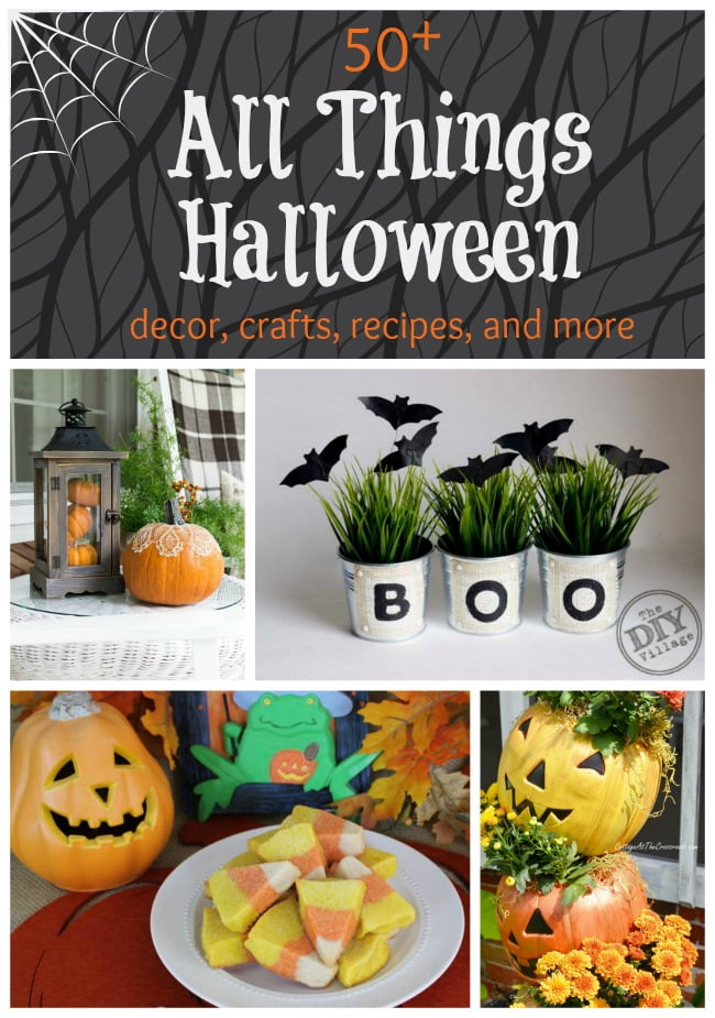 Over 50 recipes, crafts, and decor ideas to get ready for Halloween | Cottage at the Crossroads
