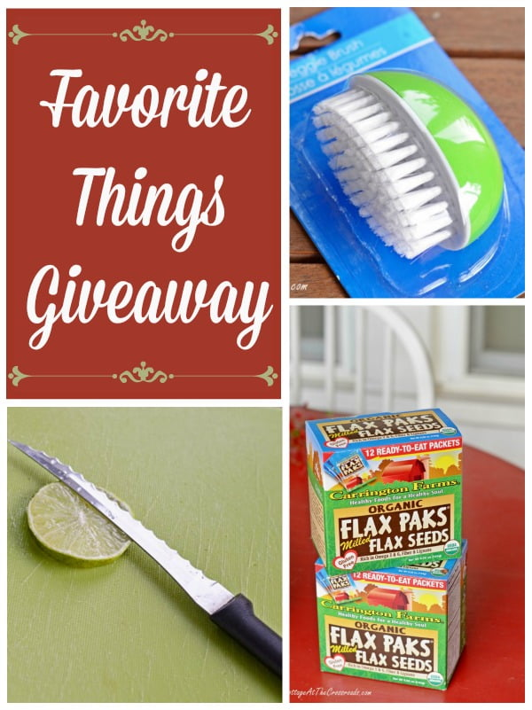 Favorite Things Giveaway | Cottage at the Crossroads